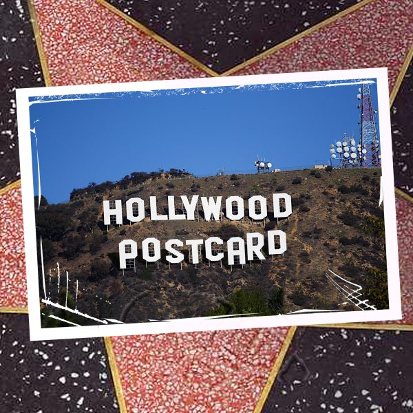 Hollywood Postcard by Michael Paul