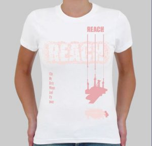Michael Paul Girls REACH T-Shirt