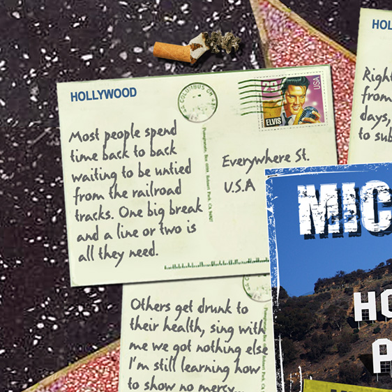 Hollywood Postcard